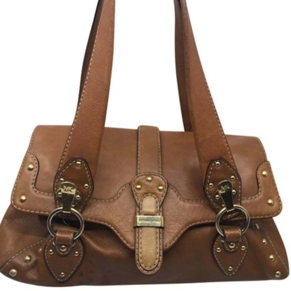 Michael Kors Handbags - Michael Kors Brown Leather Cover On Shoulder Bag